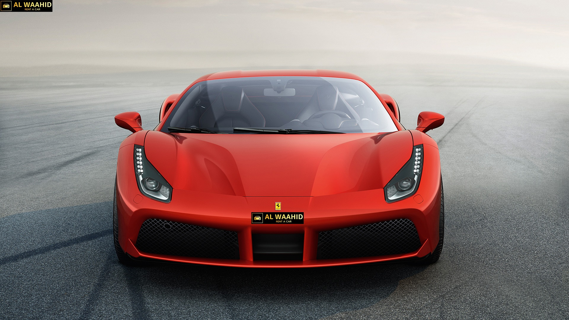 FERRARI 488 GTB luxury car