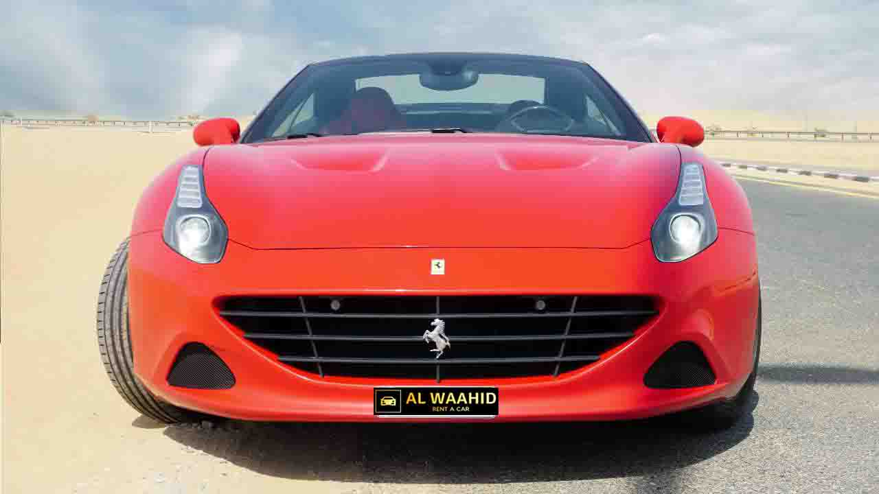 Ferrari California Rental Dubai 001