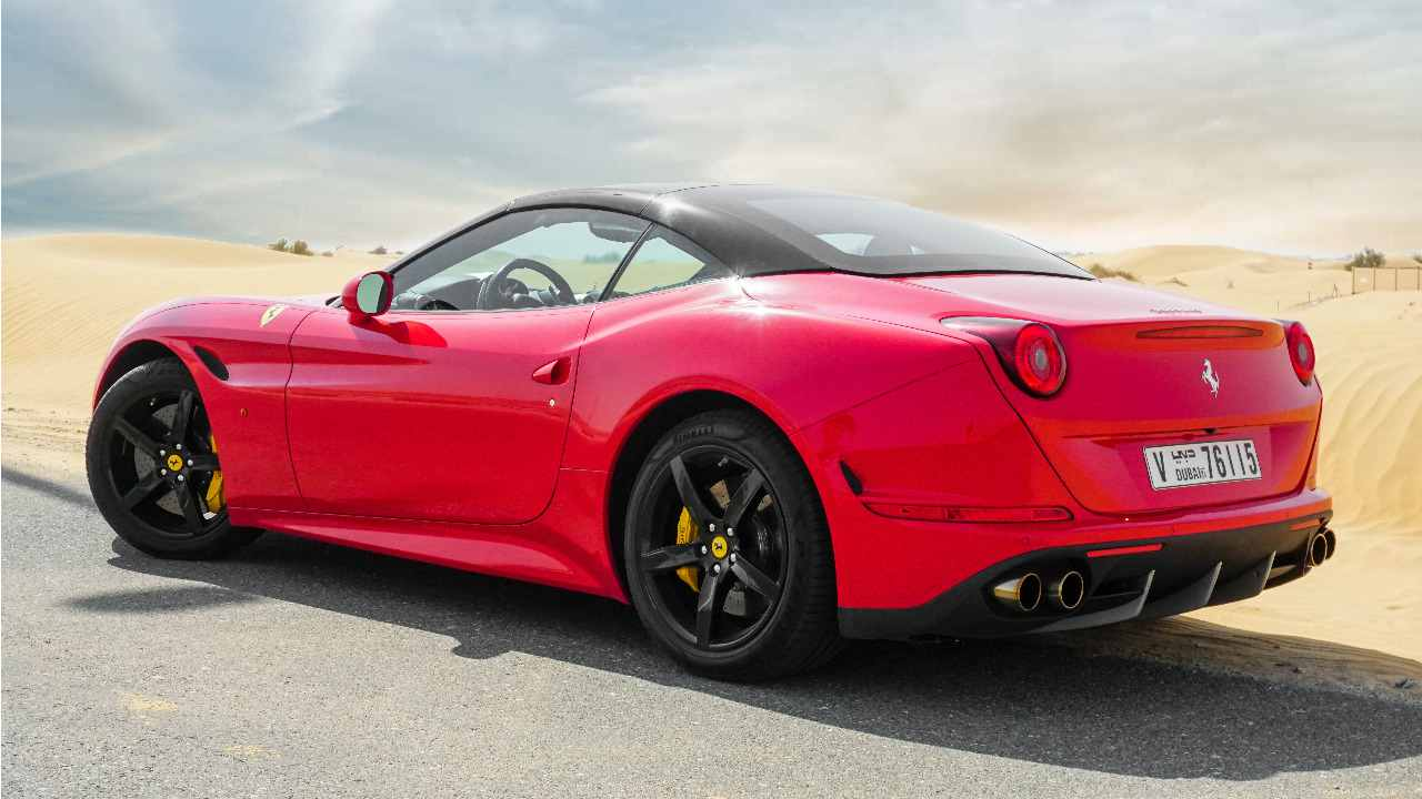 Ferrari California Rental Dubai 002