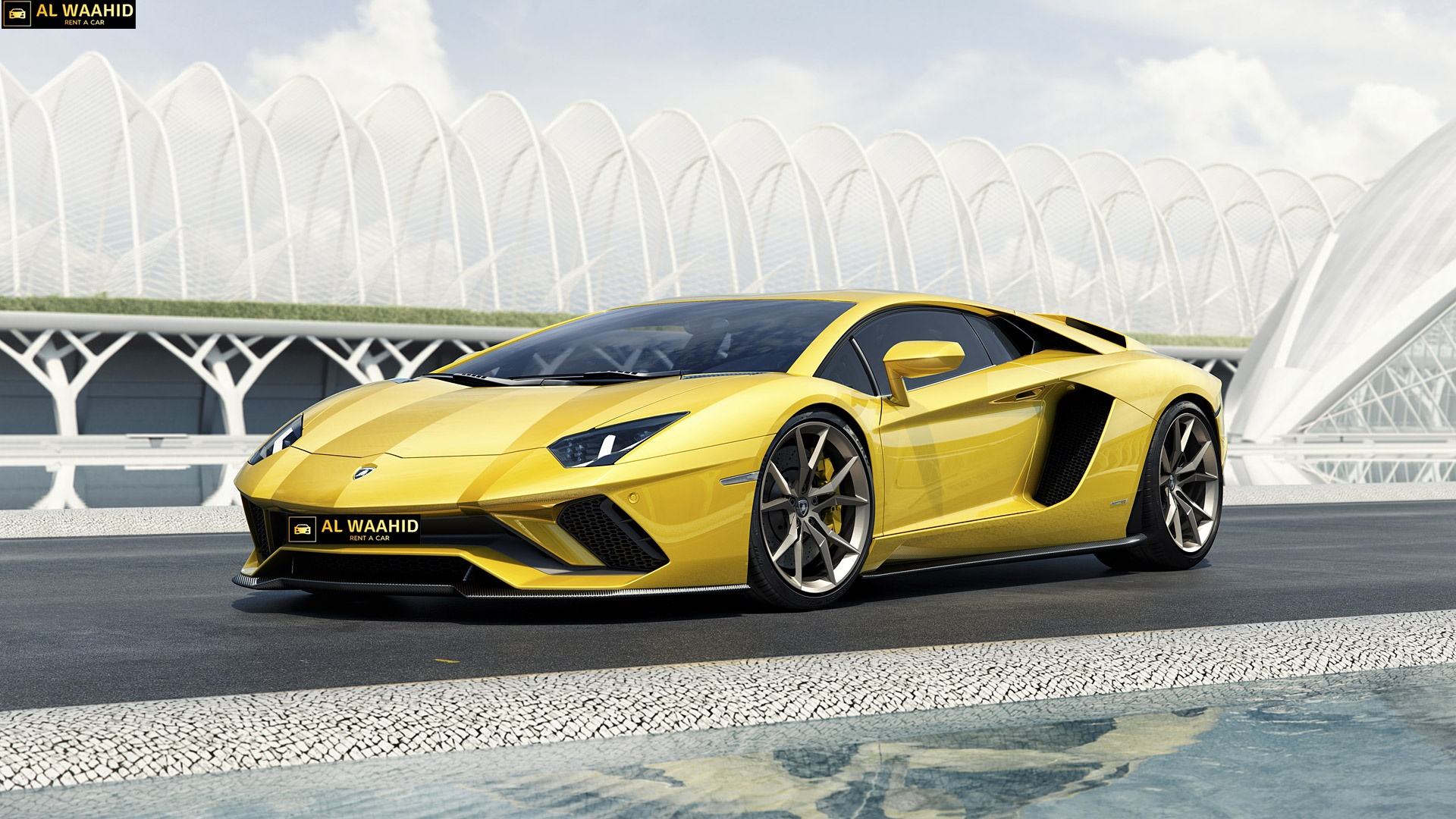 lamborghini aventador s rental dubai - luxury car -sports car rental