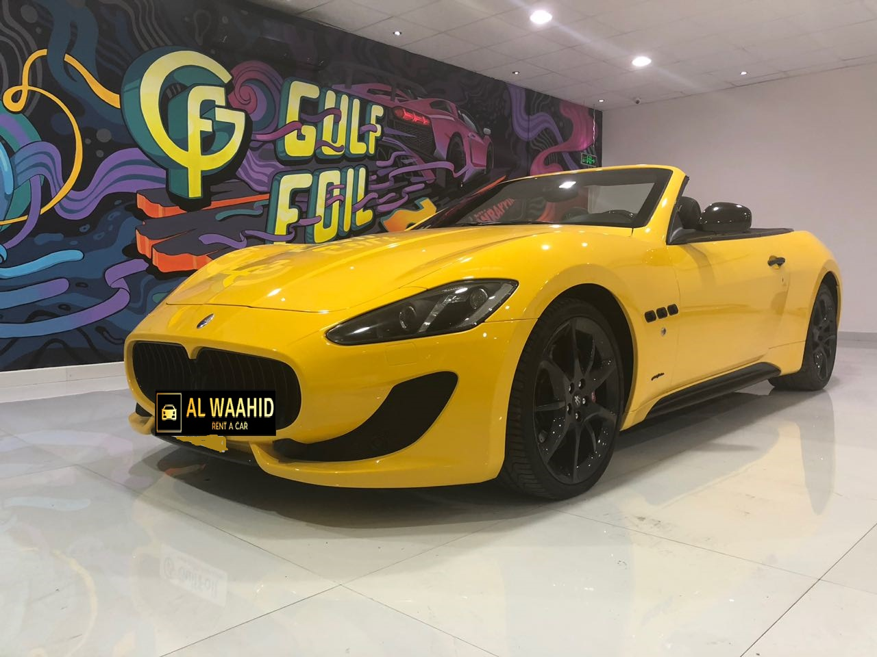 Maserati Grancabrio 2016 rental dubail luxury car