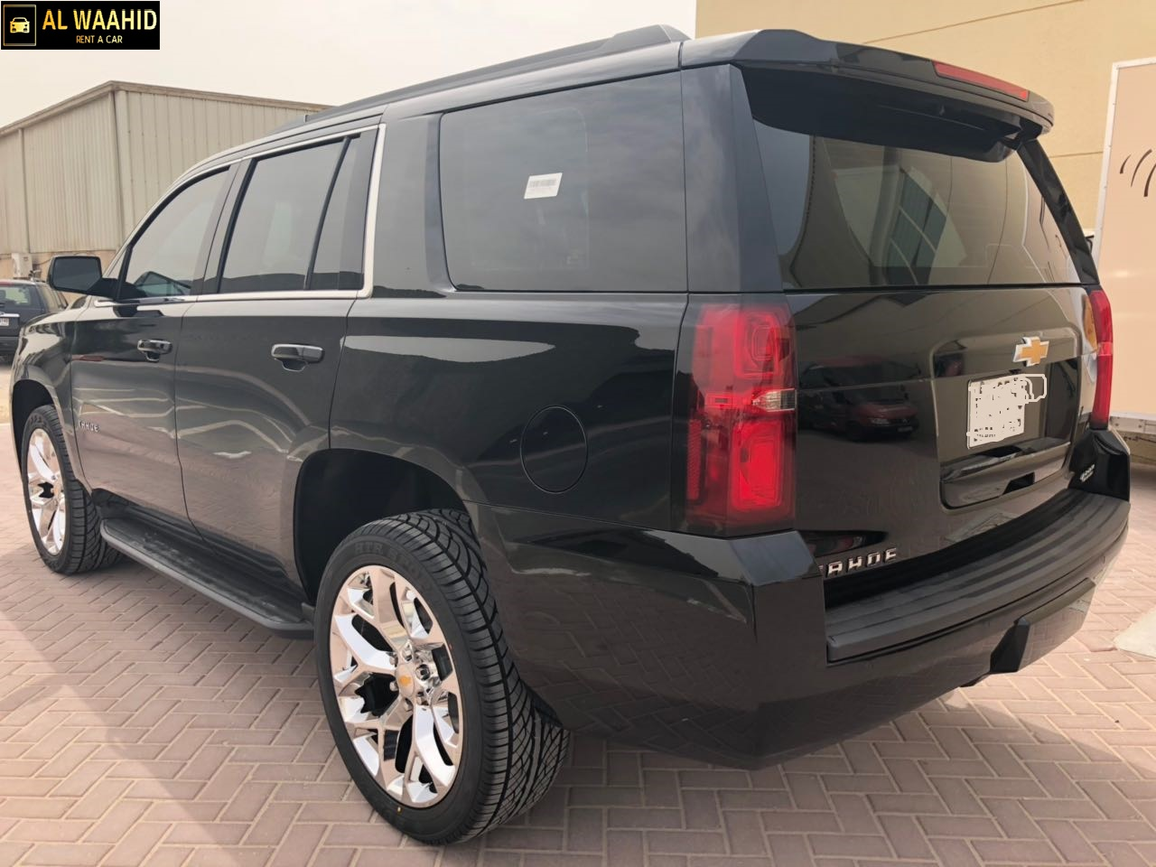 Chevrolet Tahoe 2018 luxury car rental dubai alwaahid rent a car
