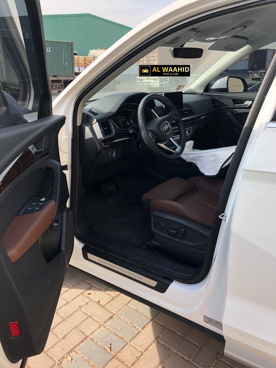 Audi Q5 2018  rental dubai  alwaahid rental dubai