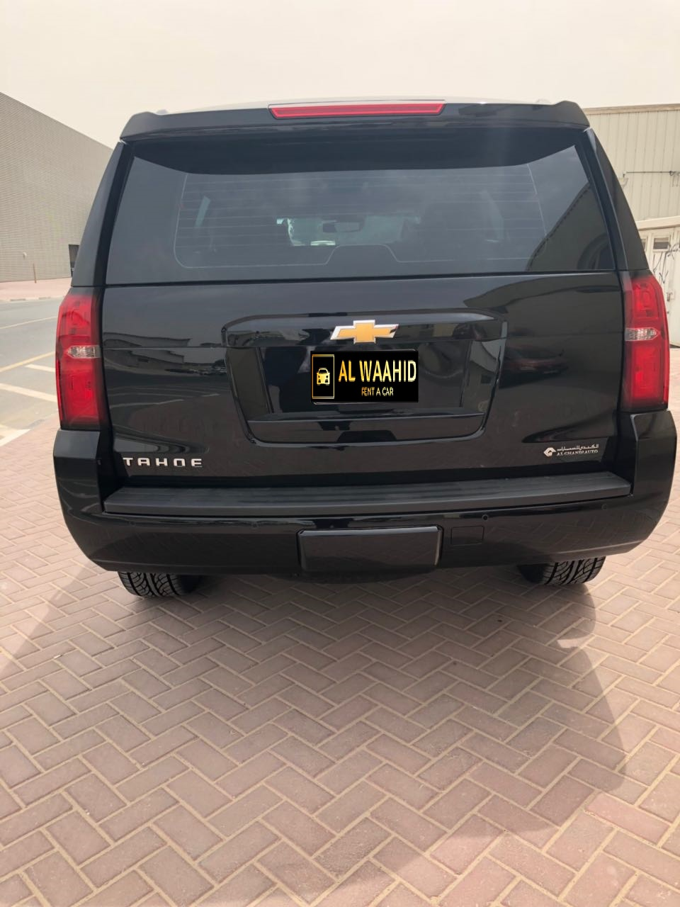 Chevrolet Tahoe 2018 luxury car rental dubai