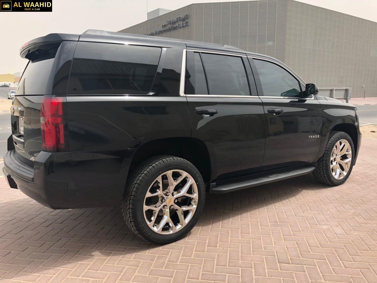 Chevrolet Tahoe 2018 luxury car  alwaahid rent a car