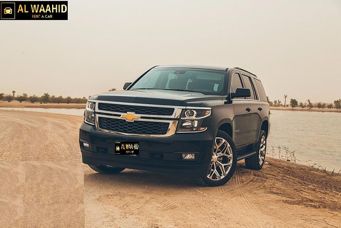 Chevrolet Tahoe 2018 luxury car rental dubai alwaahid rental