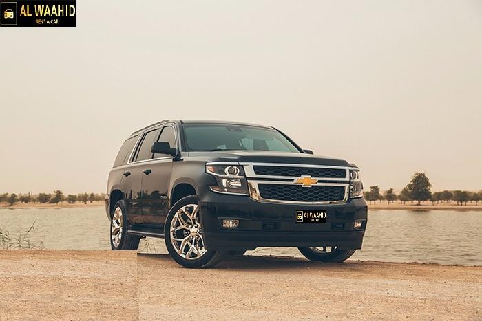 Chevrolet Tahoe Black 2018  luxury car