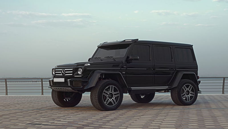 mercedes g500 rent dubai