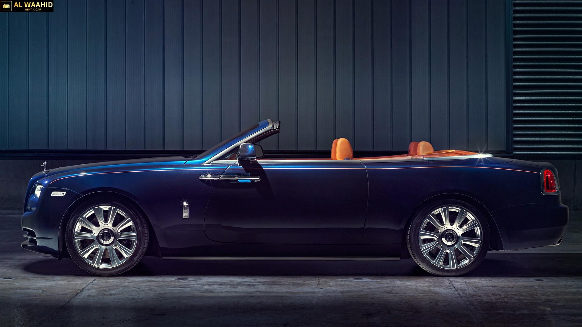 Rolls Royce Dawn  luxury car rental dubai alwaahid rent a car