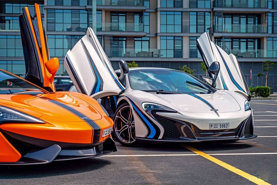 Mclaren 620s spider Rental Dubai