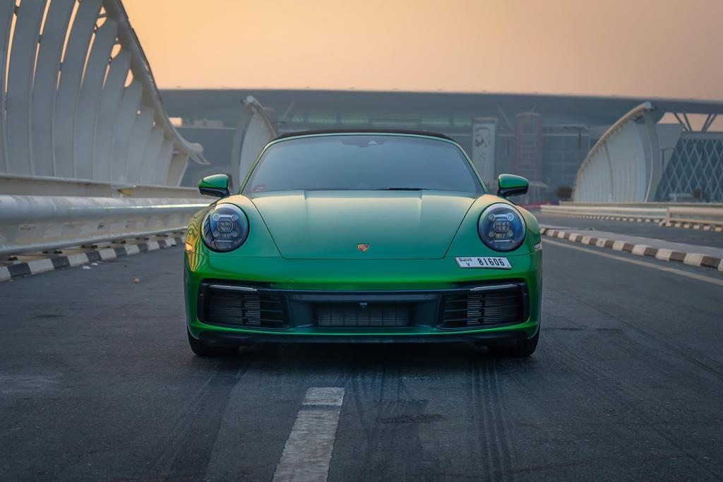 Porsche 911 Carrera 4S Cabriolet Rental Dubai