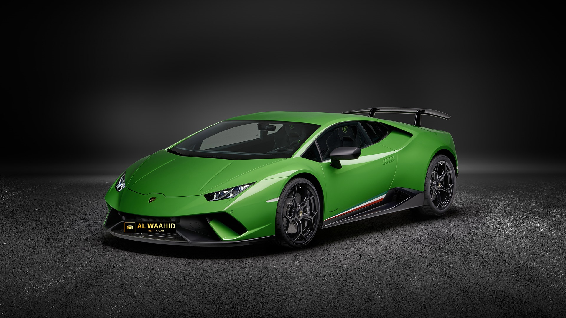 Lamborghini Huracan Performante 2018 rental dubai luxury cars alwaheed rental