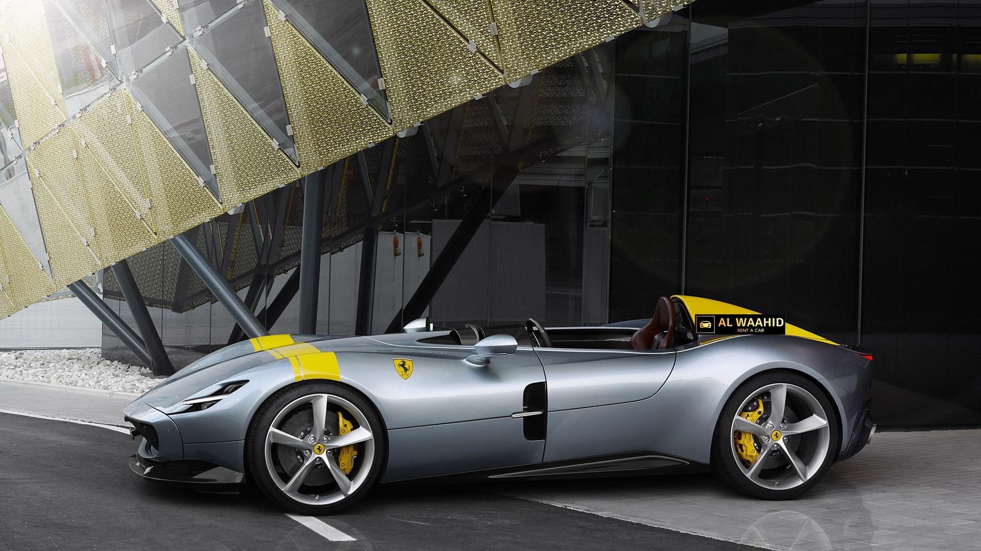 Ferrari Monza Sp1 2019 Rental Dubai Luxury Car Rental Dubai