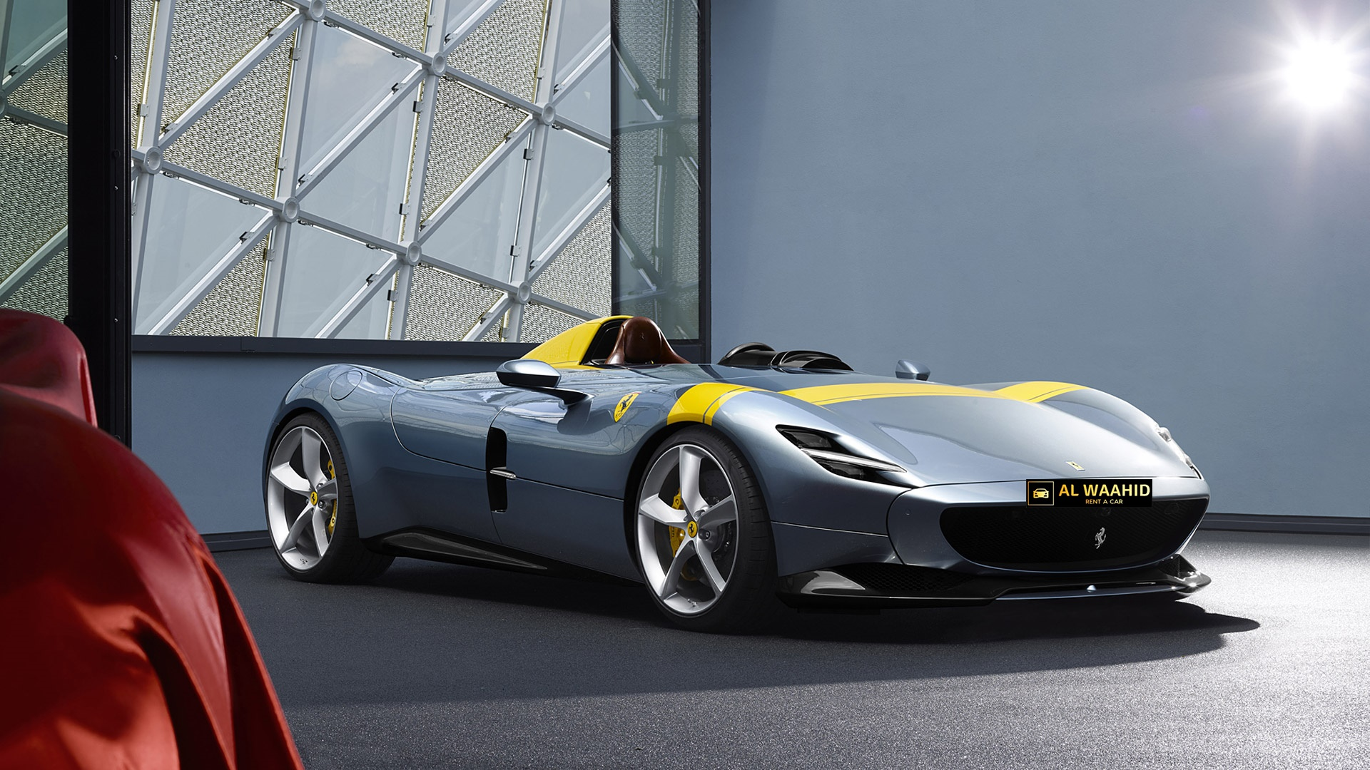 Ferrari Monza Sp1 2019 Rental Dubai Luxury Car Rental Dubai