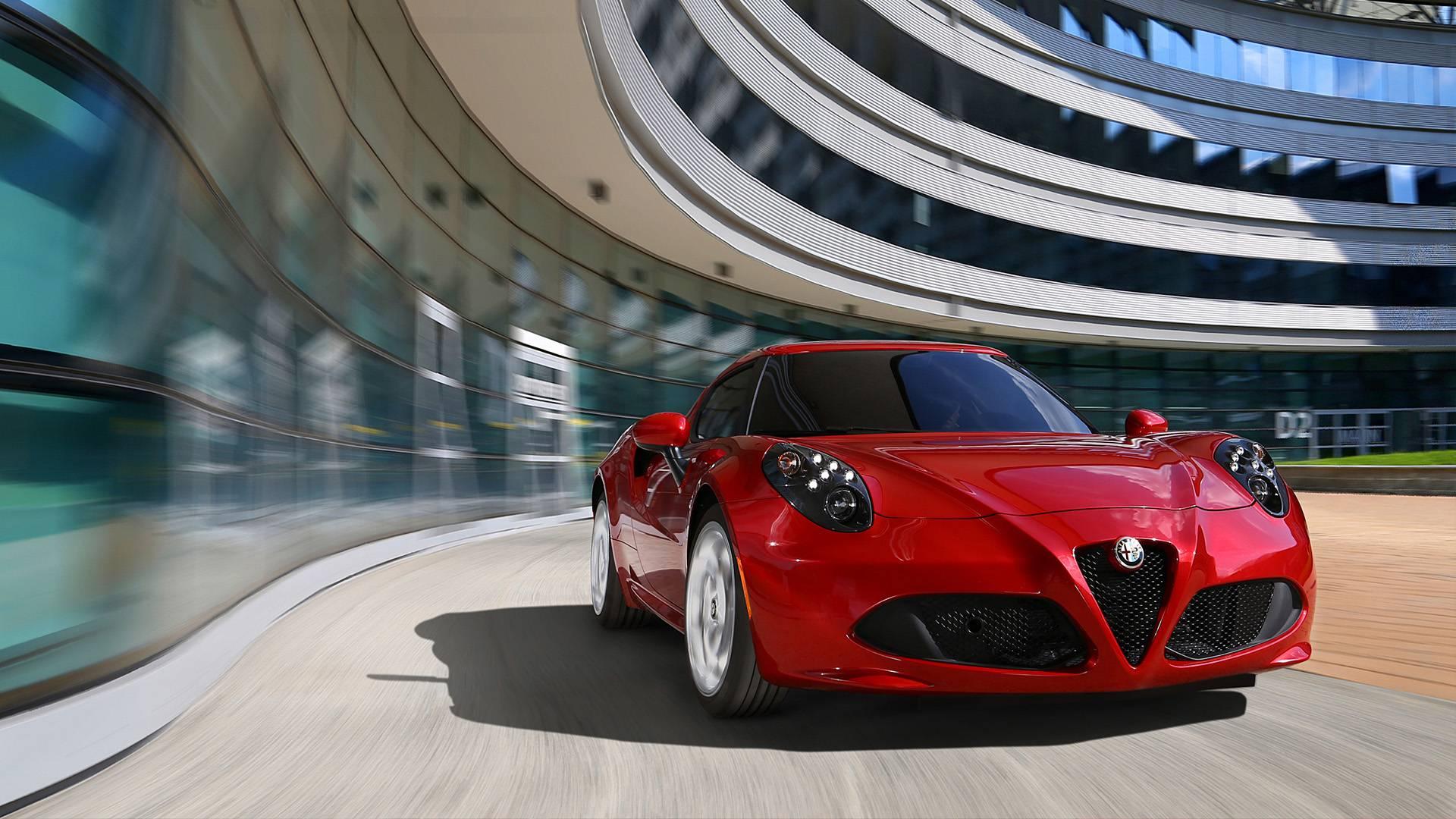 Alfa Romeo 4C Rental in Dubai